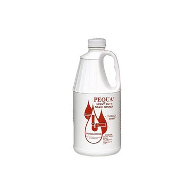 PEQUA INDUSTRIES INC. Heavy Duty Drain Opener, Industrial Strength 64 Fluid Ounce Bottle 1/2 Gallon - PEQUA INDUSTRIES INC.