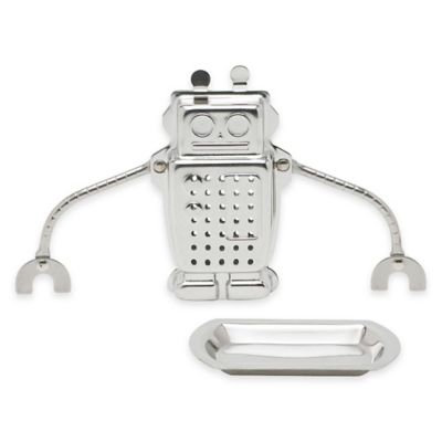 Frontier Natural Foods Frontier Natural Products 228179 Robot Tea Infuser Stainless Steel