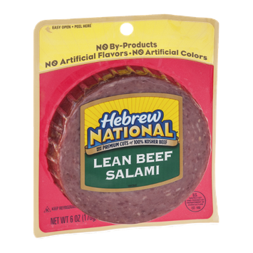 Hebrew National Lean Beef Salami