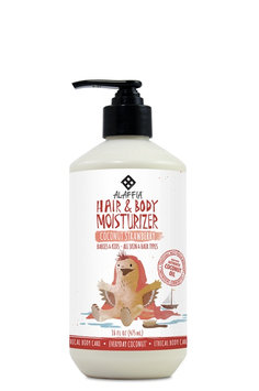 Everyday Coconut Babies & Up Hair & Body Lotion-Coconut Strawberry