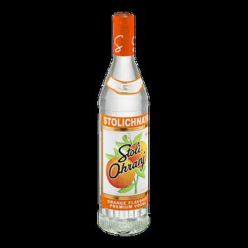 Stolichnaya Stoli Ohranj Orange Flavored Premium Vodka
