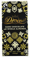 Divine Chocolate Dark Chocolate Whole Almonds 3.5 oz
