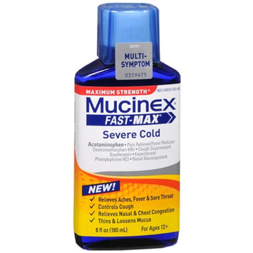 Mucinex Fast-Max Night Time Cold and Flu - 6 oz