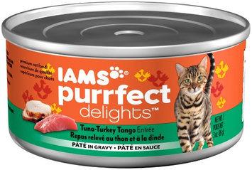 Iams Purrfect Delicacies Tuna-Turkey Tango Wet Cat Food, 3 Oz (Case of 24)