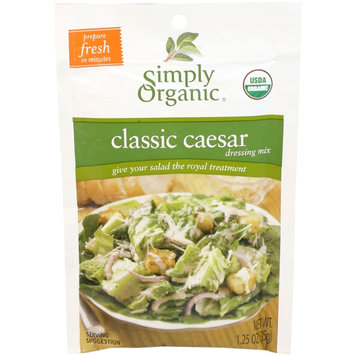 Simply Organic Certified Organic Classic Caesar Dressing