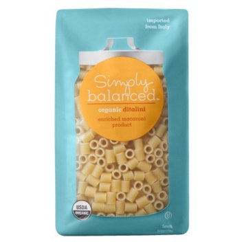 Simply Balanced Organic Ditalini Pasta 16 oz