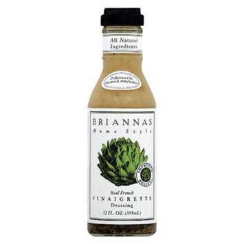 Briannas Home Style Real French Vinaigrette Dressing 12 oz