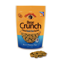 Charlee Bear Grain Free Bacon & Blueberry Bear Crunch Dog Treats, 8 oz.