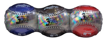 Rawlings Sporting Goods, Co. RAWLINGS SPORTING GOODS, CO. Triple PLay Flash Baseball 3 Pack - RAWLINGS SPORTING GOODS, CO.