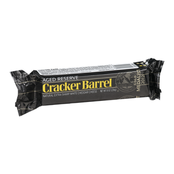Cracker Barrel Extra Sharp White Cheddar Cheese Aged Reserve