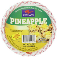 Pennant Pineapple Wedges, 8 Ounce