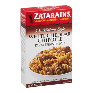 Zatarain's Pasta Dinner Mix New Orleans Style White Cheddar Chipotle