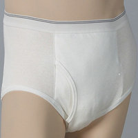 Dignity Free & Active Men's Absorbent Brief with Built-In Protection medium