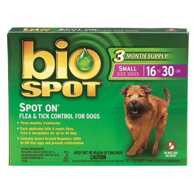 Bio Spot Spot-on Flea and Tick Control