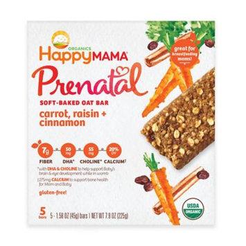Happy Mama® Prenatal 5-Pack Carrot, Raisin, and Cinnamon Soft-Baked Oat Bars