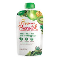 Happy Mama® Prenatal 4 oz. Apple, Kale, Kiwi With Soothing Ginger Fruit And Veggie Blend