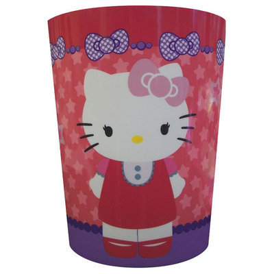 Hello Kitty Decorative Bath Collection - Wastecan