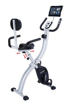 Innova Fitness XBR450 Dual Function Folding Upright/Recumbent Bike