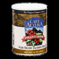 Cafe Altura Organic Coffee Fair Trade Classic Roast