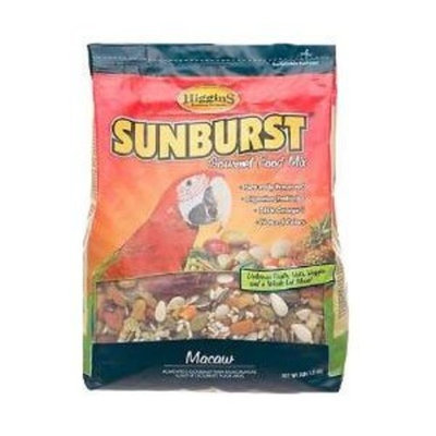 HIGGINS 466187 Higg Sunburst Food for Macaw, 25-Pound