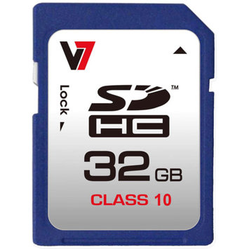 V7 32GB Class 10 SDHC Card