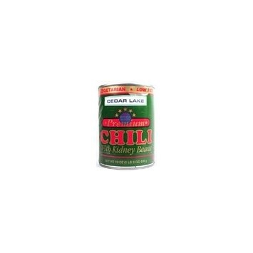 Cedar Lake Chili - Vegan (12 Cans)