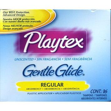 Playtex Unscented Gentle Glide Regular Tampons 16 Each