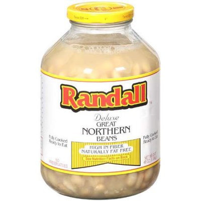 Randall Great Northern Beans, 3 LB (Pack of 6)