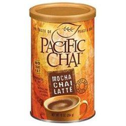 Pacific Chai B83542 Pacific Chai Mocha Powder- 6x10 Oz
