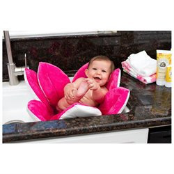 Upanaway Blooming Bath Plush Baby Bath - Hot Pink