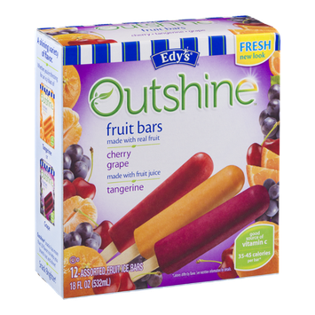 Edy's Outshine Fruit Bars Assorted - 12 CT
