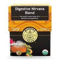 Digestive Nirvana Blend Tea Buddha Teas 18 Bags Box