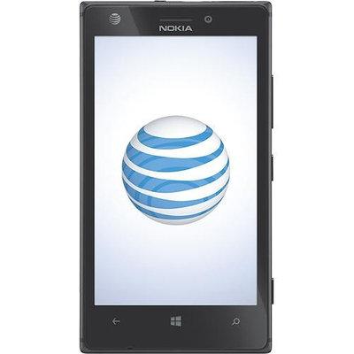 Nokia - Lumia 925 4G Cell Phone - Black (AT&T)