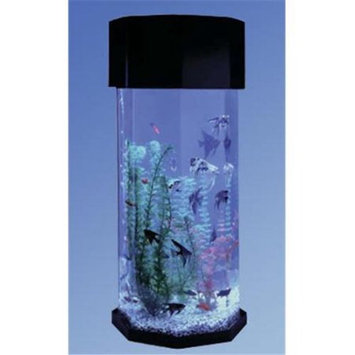 Midwest Tropical Octagon Aqua Scape Aquarium