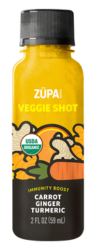 ZÜPA NOMA Carrot Ginger Turmeric Shot