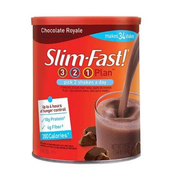 Slim-Fast 3-2-1 Plan Shake Mix Chocolate Royale