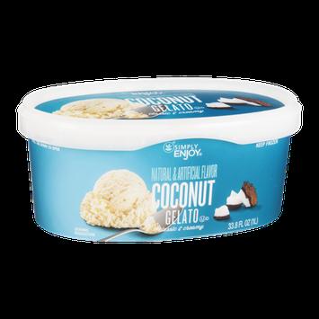 Ahold Simply Enjoy Gelato Coconut