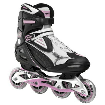 American Athletic Shoe Co Women's Roces Inline Skates - Silver/ Pink (10)