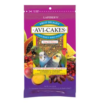 Lafeber'sA Fruit Delight Avi-Cakes Parakeet & Cockatiel Food