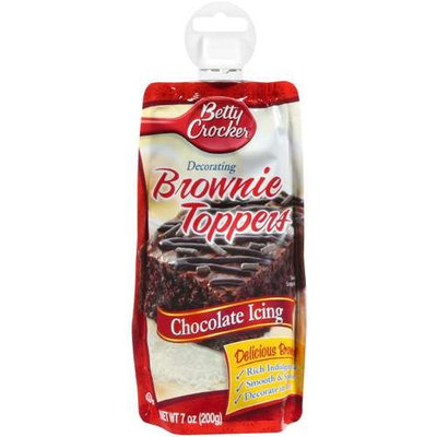 Betty Crocker™ Chocolate Decorating Brownie Toppers Icing