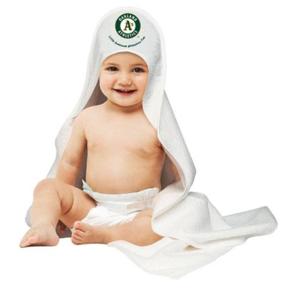 Oakland Athletics Official MLB Hooded Infant Towel by McArthur
