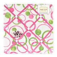 Sweet Jojo Designs Circles Pink Collection Memo Board