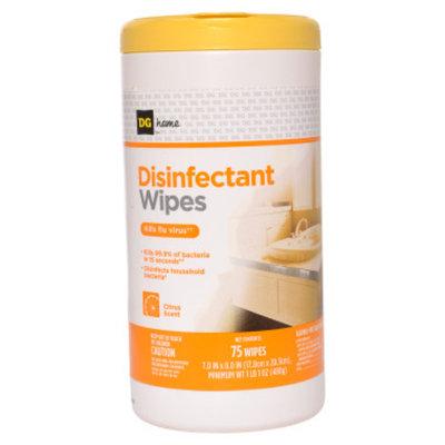 DG Home Disinfectant Wipes - Citrus Scent