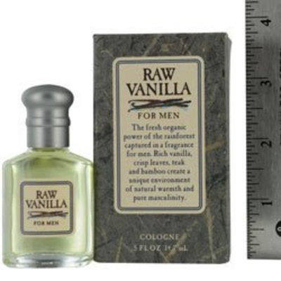 Coty Raw Vanilla Cologne Splash for Men, 0.5 Ounce