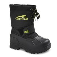 Toddler Boy's Arctic Cat Snowshower Winter Boots - Black 13
