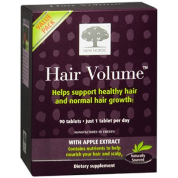 New Nordic Hair Volume Supplement, Tablets, 90 ea