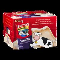 Horizon Organic Lowfat Milk Vanilla - 12 CT