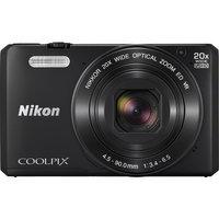 Nikon - Coolpix S7000 16.0-Megapixel Digital Camera - Black