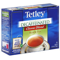 Tetley Classic Black Naturally Decaf Tea