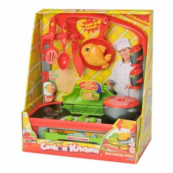 Cook N' Kitchen Kitchenette with Grill Ages 4 +, 1 ea